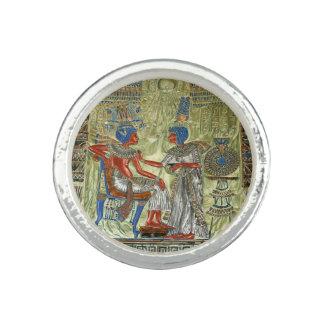 Tutankhamon's Throne Photo Rings