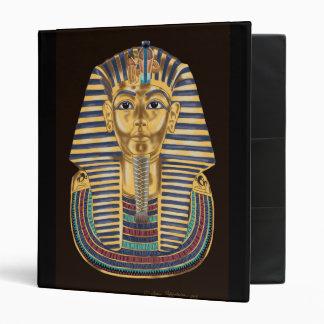 Tutankhamon's Golden Mask 3 Ring Binder