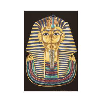 Tutankhamon's Golden Mask Canvas Print