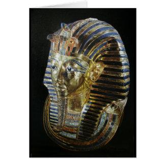 Tutankhamon's Golden Mask Card