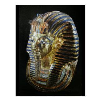 Tutankhamon's Golden Mask Postcard