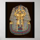 Tutankhamon's Golden Mask Poster