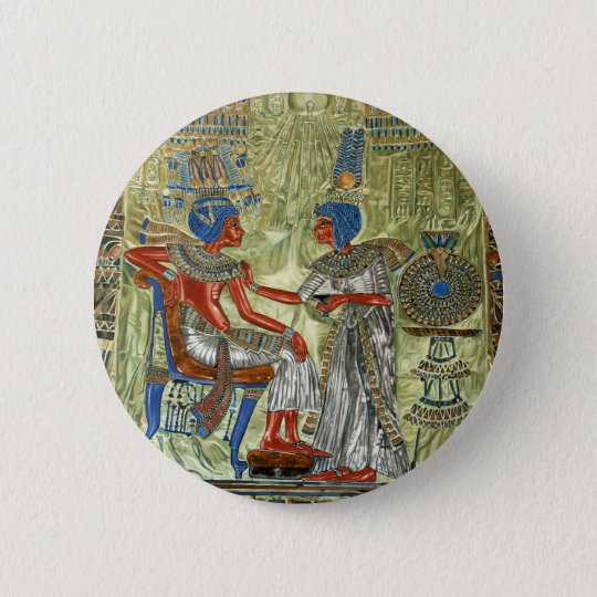 Tutankhamon's Throne Pinback Button