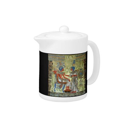 Tutankhamon's Throne Teapot