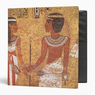 Tutankhamun  and his wife, Ankhesenamun 3 Ring Binder
