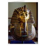 Tutankhamun - Burial mask Greeting Card