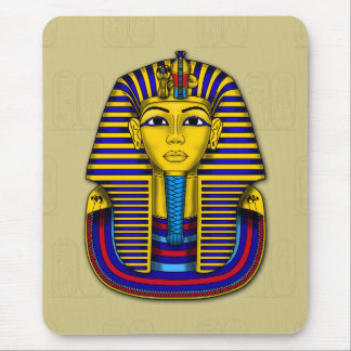 Tutankhamun Death Mask Iconic Graphic Mouse Pad