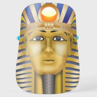 Tutankhamun Egyptian Pharaoh Novelty Face Shield