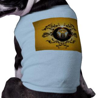 Tutankhamun, el pharaoh del agyptische camisa de perro