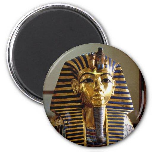 Tutankhamun - máscara del entierro imán para frigorifico