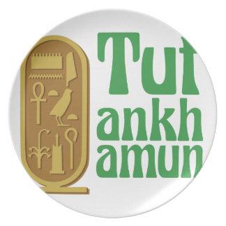 Tutankhamun Melamine Plate