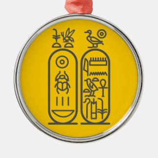 Tutankhamun Metal Ornament