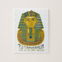 Tutankhamun mummy, the ancient King Tut of Egypt Jigsaw Puzzle