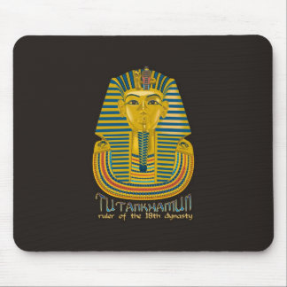 Tutankhamun mummy, the ancient King Tut of Egypt Mouse Pad