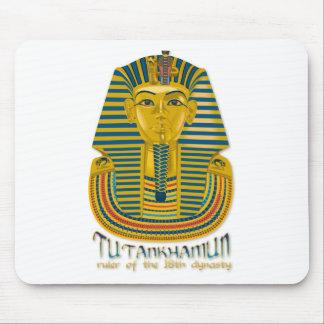 Tutankhamun mummy, the ancient King Tut of Egypt Mouse Pads
