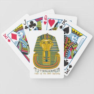 Tutankhamun mummy, the ancient King Tut of Egypt Bicycle Playing Cards