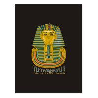 Tutankhamun mummy, the ancient King Tut of Egypt Postcard