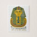 Tutankhamun mummy, the ancient King Tut of Egypt Jigsaw Puzzles