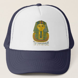 Tutankhamun mummy, the ancient King Tut of Egypt Trucker Hat