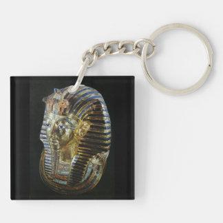 Tutankhamun's Golden Mask Keychain