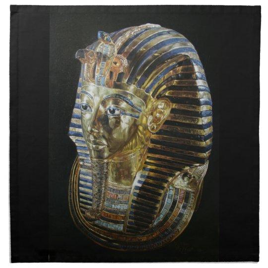 Tutankhamun's Golden Mask Napkin