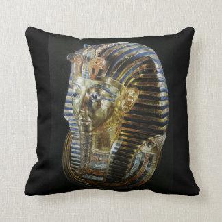 Tutankhamun's Golden Mask Throw Pillow