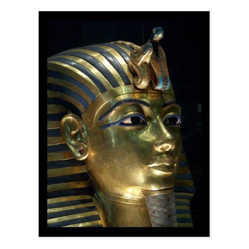 tutankhamun tarjetas postales
