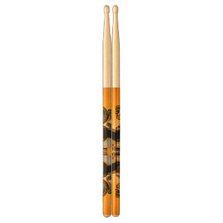 Tutankhamun, the agyptische pharaoh drum sticks