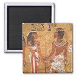 Tutankhamun y su esposa, Ankhesenamun Imán De Frigorífico