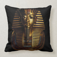 Tutankhamun's Comfort! Throw Pillow