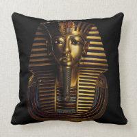 Tutankhamun's Comfort! Throw Pillow