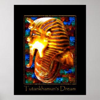TUTANKHAMUN'S DREAM Art Poster