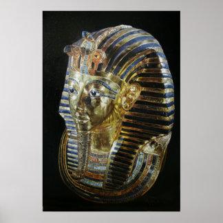 Tutankhamun's Golden Mask Poster