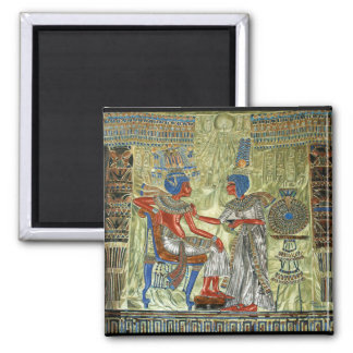 Tutankhamun's Throne Refrigerator Magnets