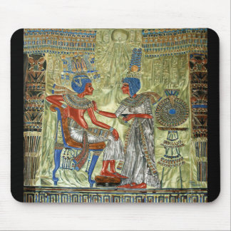 Tutankhamun's Throne Mouse Pad