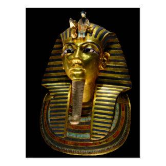 Tuthankamen Burial Mask Postcard