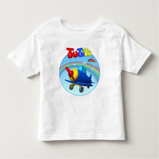 TuTiTu Airplane Toddler T-Shirt