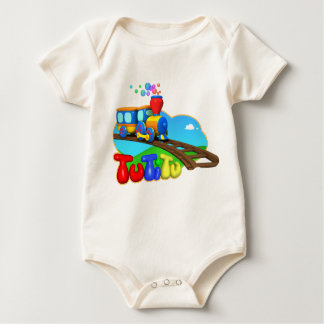 TuTiTu Train Baby Bodysuit