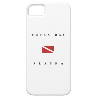 Tutka Bay Alaska Scuba Dive Flag iPhone 5 Cover