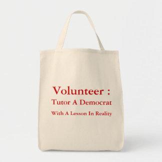 Tutor A Democrat Tote Bag