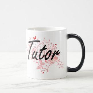 Tutor Artistic Job Design with Butterflies Magic Mug