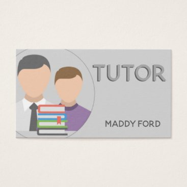 Professional Business Tutor business business card