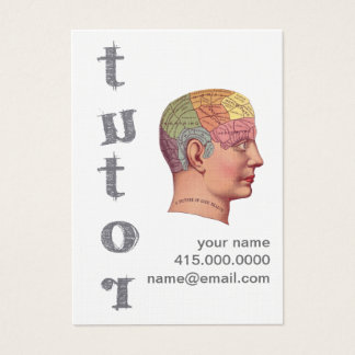 Tutor Business Card