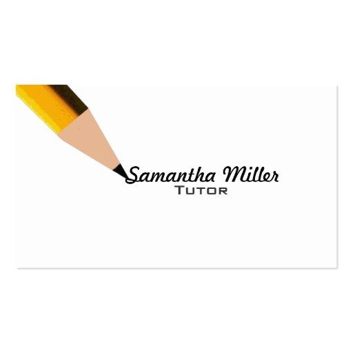 Professor business cards standard size page2 bizcardstudio tutor business cards colourmoves