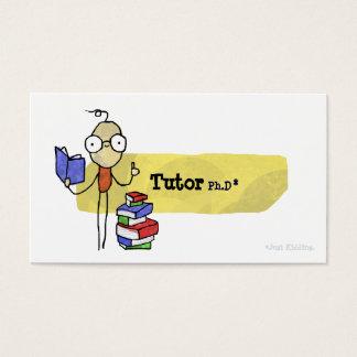 Tutor Ph.D Boy Business Card