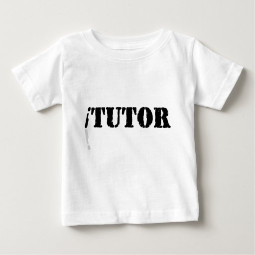 Tutor Playera De Bebé