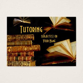 Tutor, Teacher, School Business Card