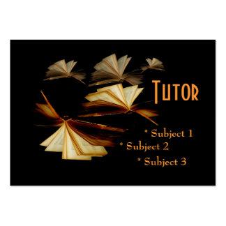 Tutor, Teacher, School Large Business Cards (Pack Of 100)