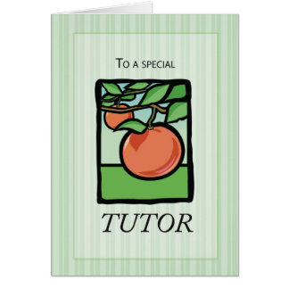 Tutor, Teacher Thank You, Apple Card