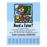 "Tutor.Tutoring.Custom text/color 8.5"" X 11"" Flyer"